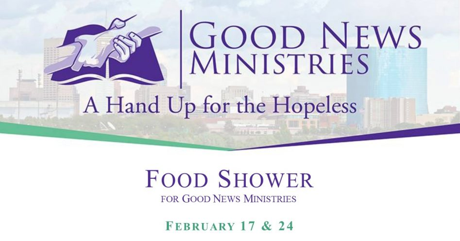 Food Shower for Good News Ministries