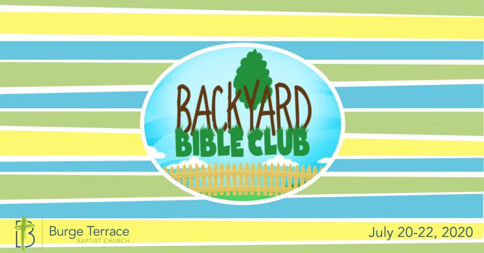 2020 Backyard Bible Club Registration