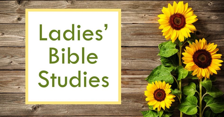 Ladies' In-Home Bible Studies 2019-20